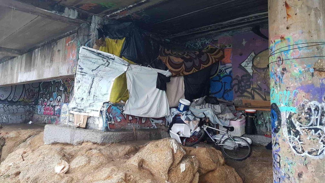 Así fue el desmantelamiento del asentamiento en la finca de los Mariño