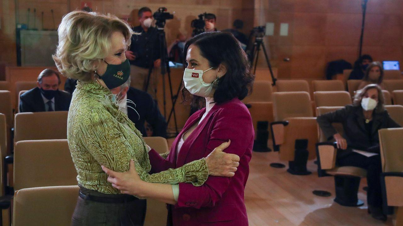 Isabel Díaz Ayuso, en un acto en Madrid