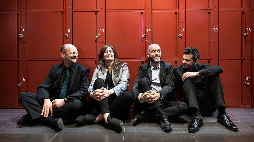 El Cuarteto Alicerce actúa en el Círculo de las Artes