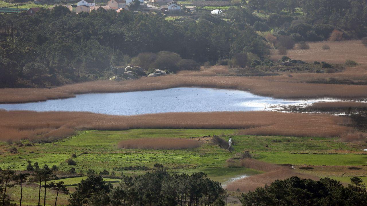 Imagen de la lagoa de Vixán