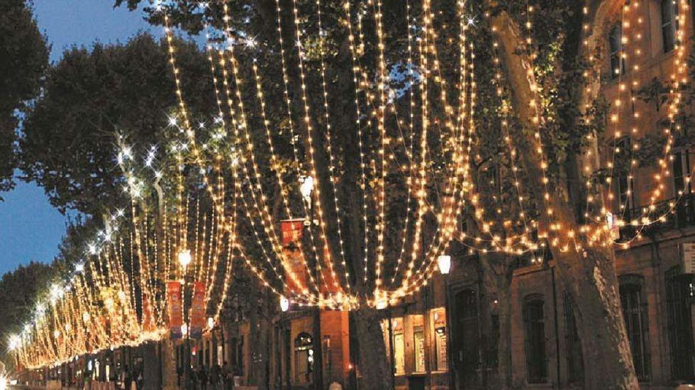 Proyecto de iluminación de Gijón para la Navidad 2016
