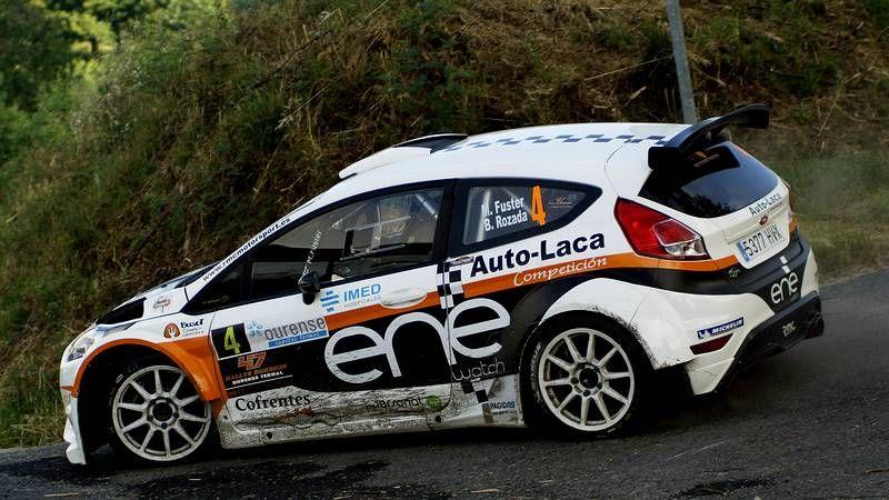Las mejores fotos del Rali de Ferrol.Los hermanos Vallejo, después de ganar el Rally de Ferrol en el mes de agosto.