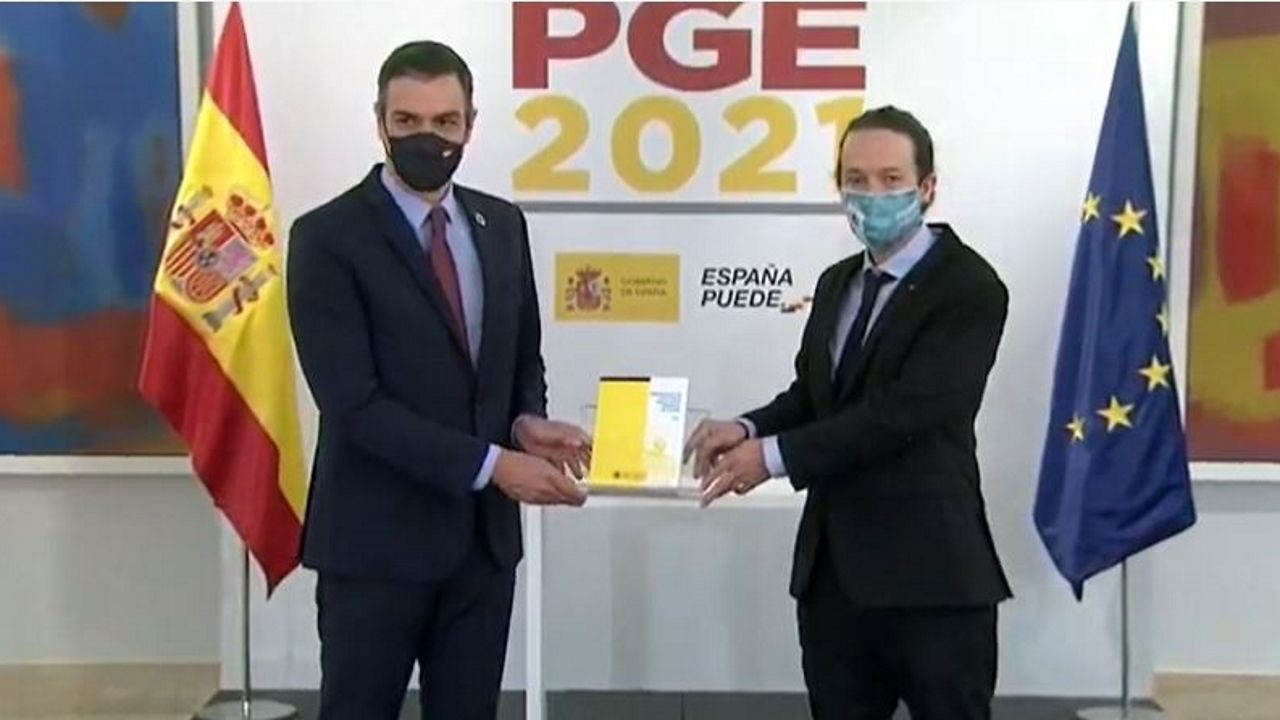 En directo: Sánchez e Iglesias presentan el proyecto de Presupuestos