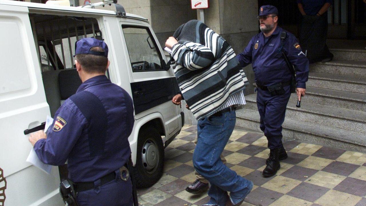 José Manuel Pillo Fernández durante el juicio