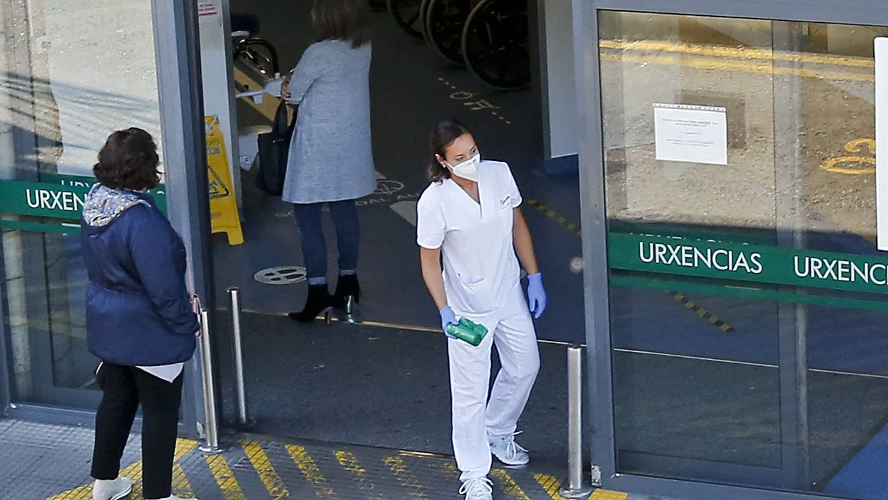 El número de hospitalizados por covid en Galicia asciende a 605, lo que supone el récord de la segunda ola
