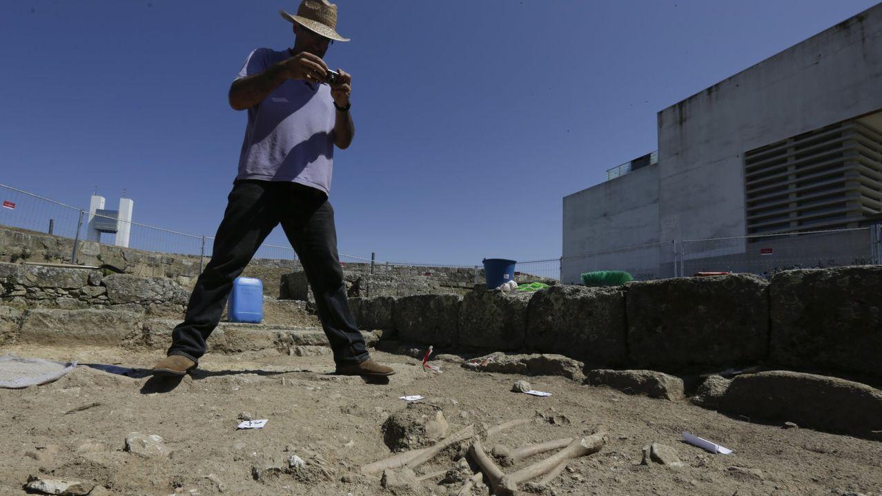 Encuentran restos humanos en las excavaciones del yacimiento San Francisco.