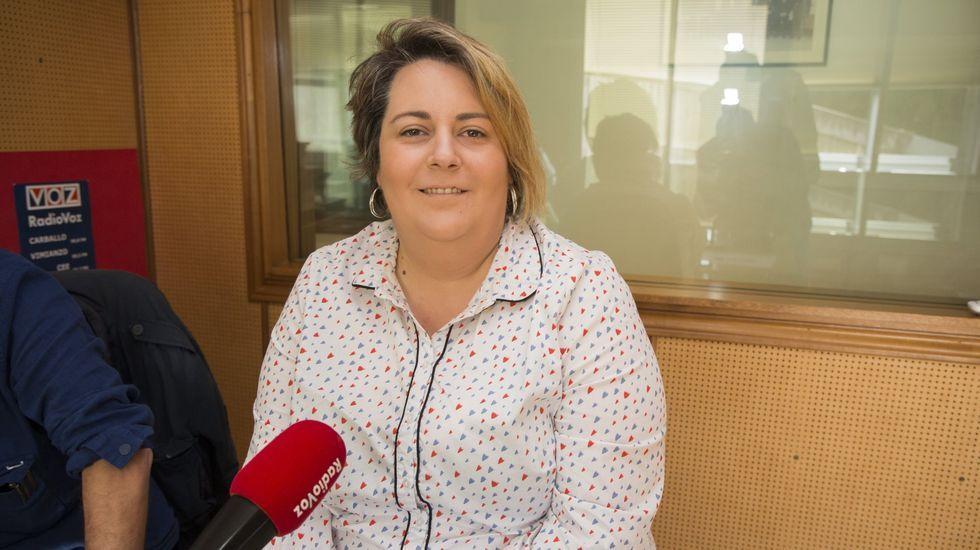 Sandra Vilela, portavoz del PP muxián