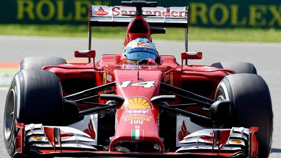 El Gran Premio de Italia, en imágenes