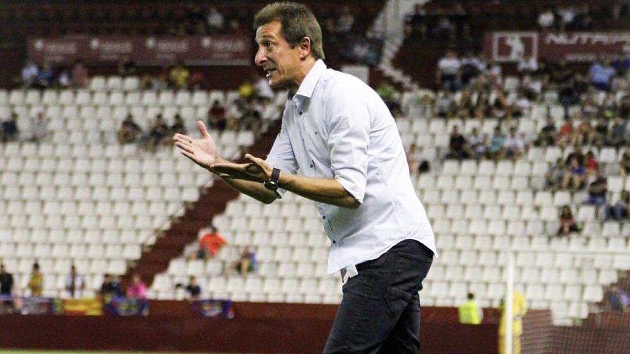 Anquela Real Oviedo Elche Carlos Tartiere.Ramis, técnico del Albacete