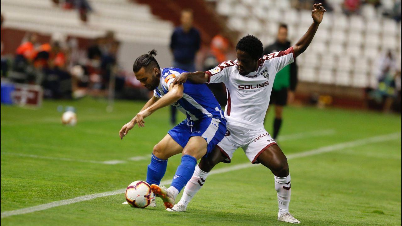 Folch Christian Fernandez Rocha Real Oviedo Huesca.Todos señalan al Albacete como el equipo revelación de la categoría