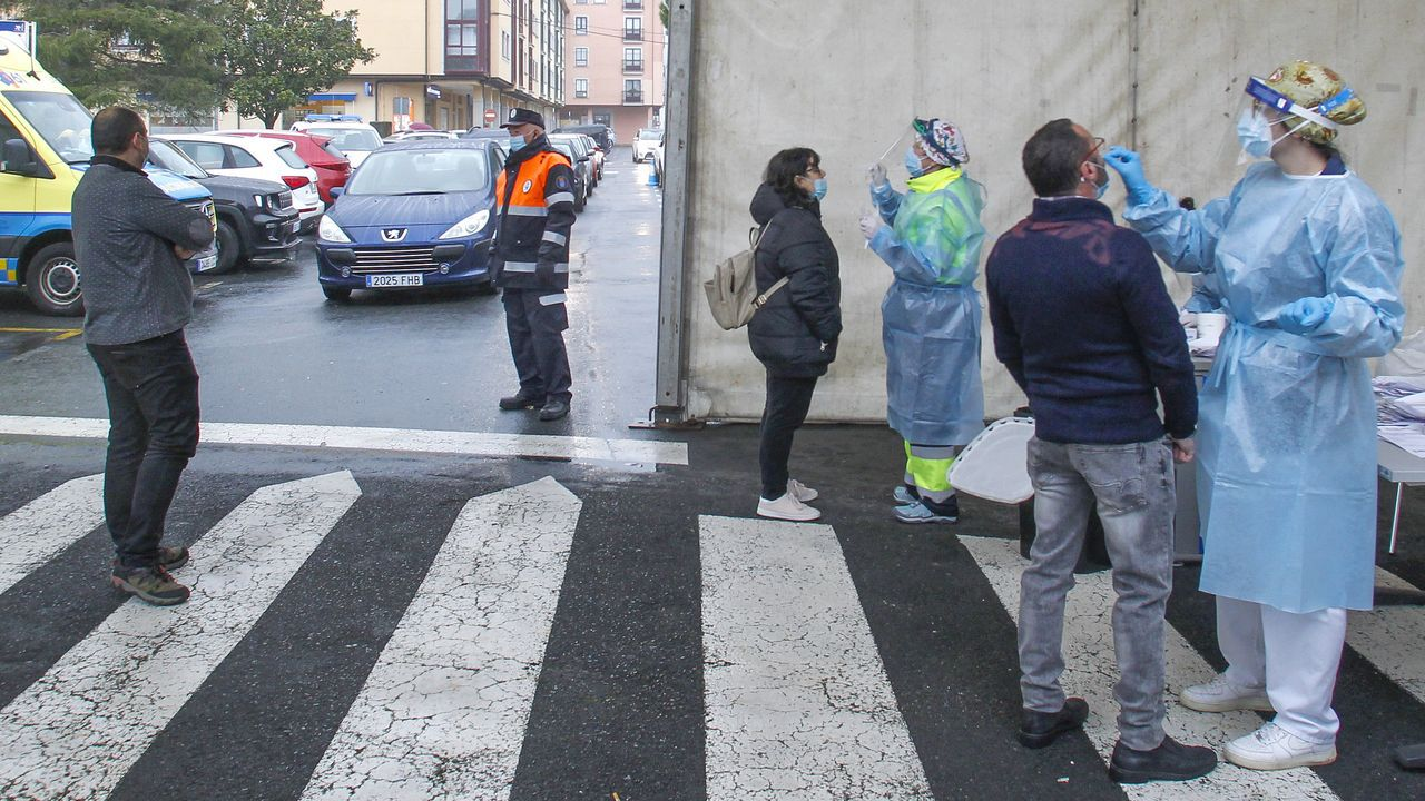 Sanidade realizó un cribado entre la población pontesa a comienzos de diciembre