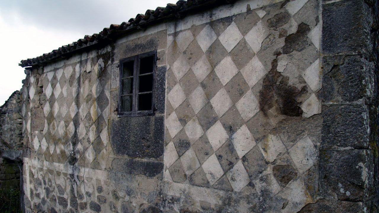 Decoración geométrica en Vilariño de Arriba