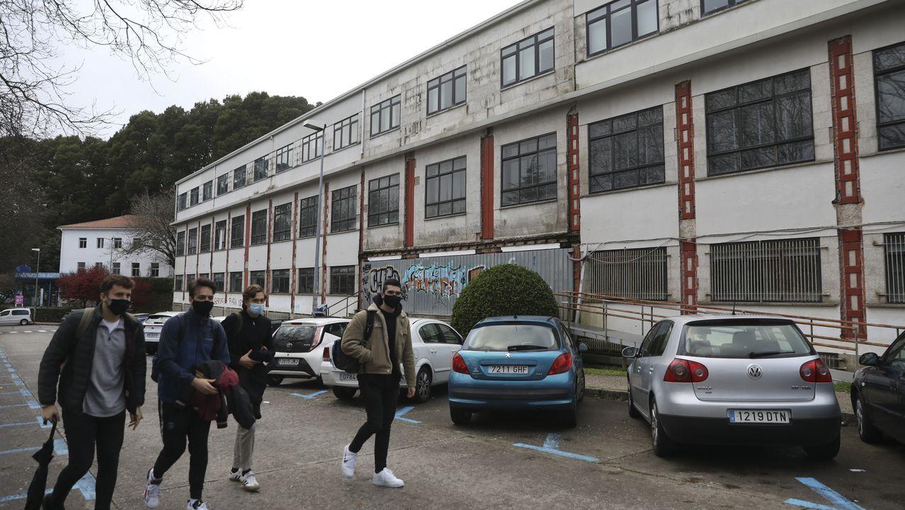 El plan prevé demoler la actual Facultade de Farmacia