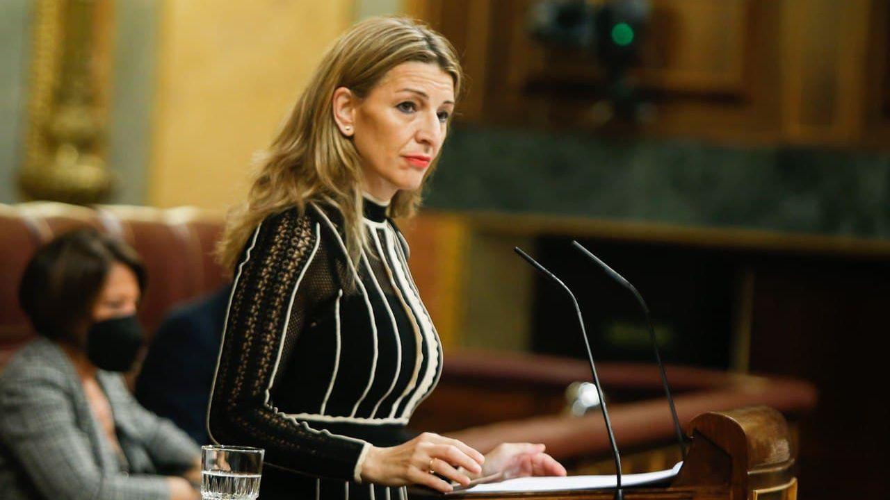 En directo: La última sesión de control al Gobierno con Pablo Iglesias.Ana Pontón, portavoz del BNG