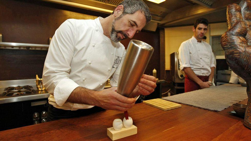 Madrid Fusión abre sus puertas.El cocinero gaditano Ángel León, del restaurante Aponiente.