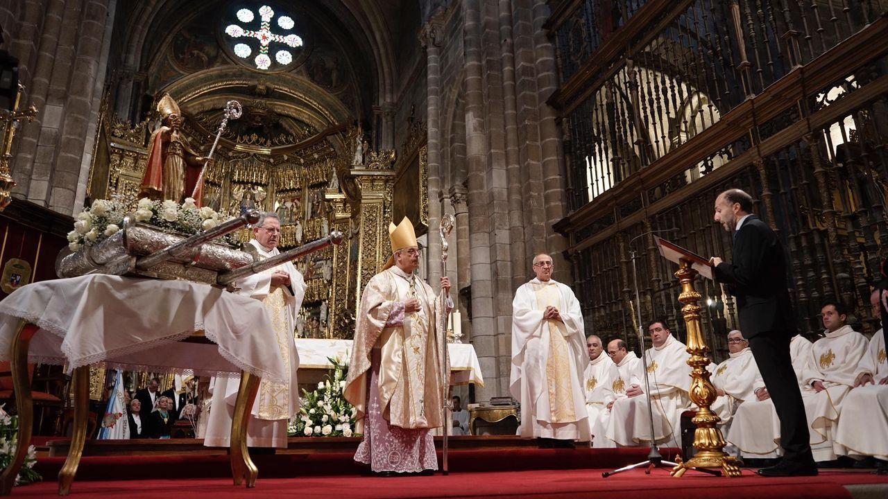 Ofrenda de Jácome por el San Martiño