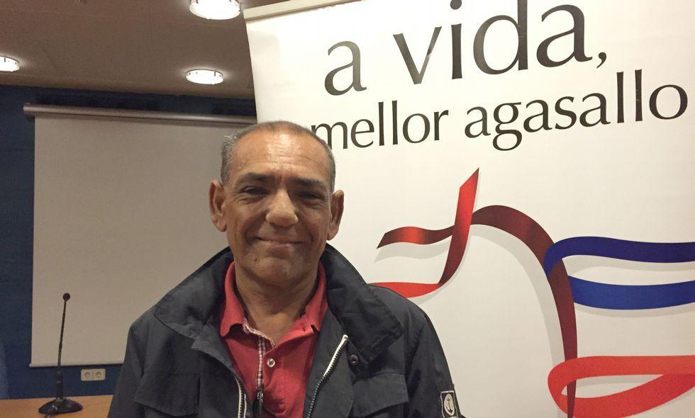 Carlos Caamaño del Castillo ha pasado por dos trasplantes y espera poder tener una nueva oportunidad.