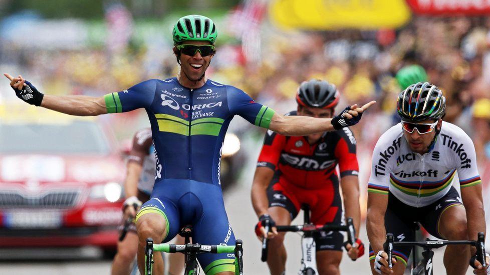 Así fue el rocambolesco final de etapa en el Tour