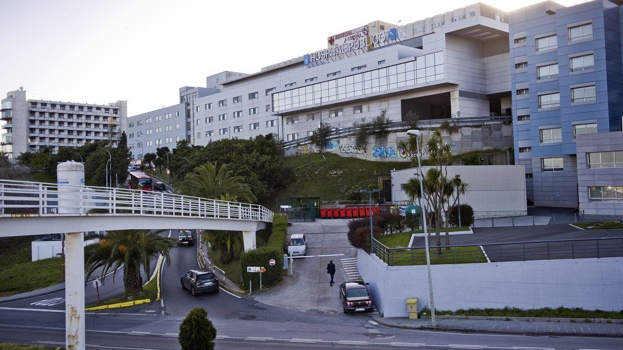 Encierro de los trabajadores de la fábrica de armas de A Coruña.