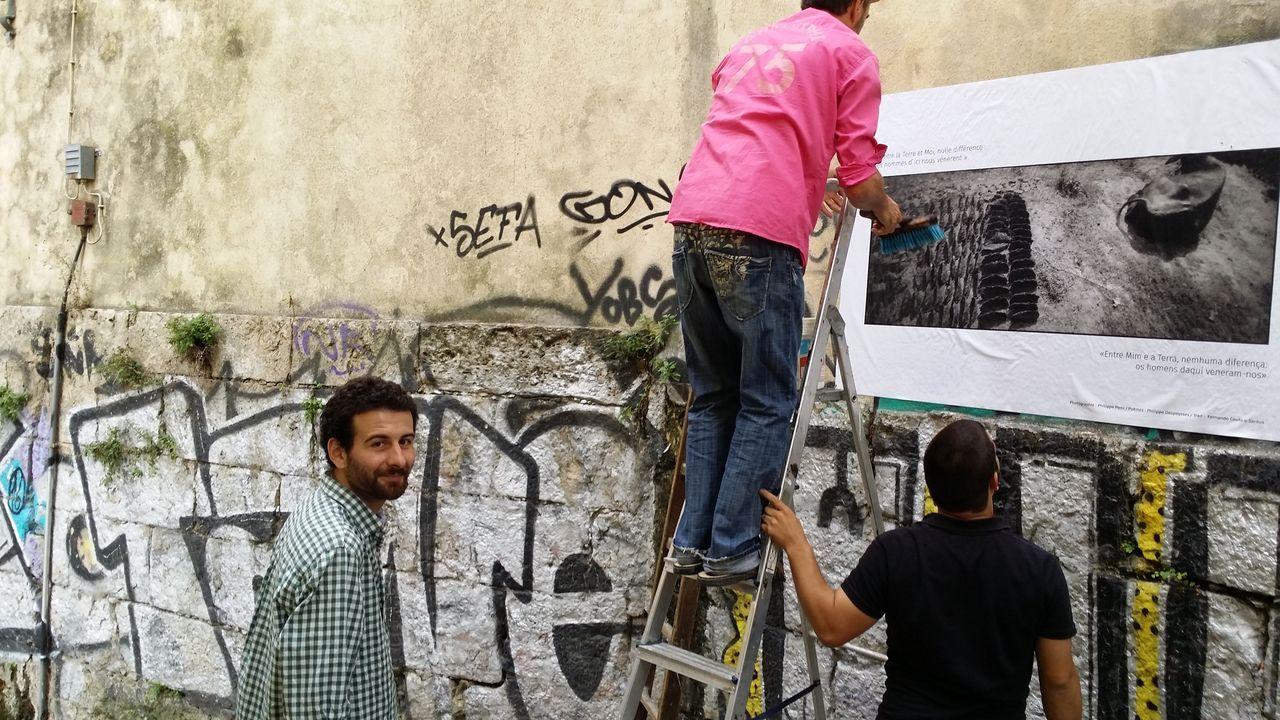 Chan de Gándara-Galician Brew.Óscar Reinoso, unos meses antes de regresar a Galicia, trabajando en la recuperación de un barrio de Lisboa.
