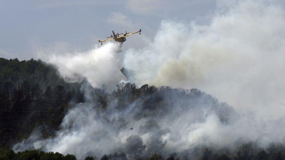 4.000 hectáreas quemadas y 2.500 evacuados