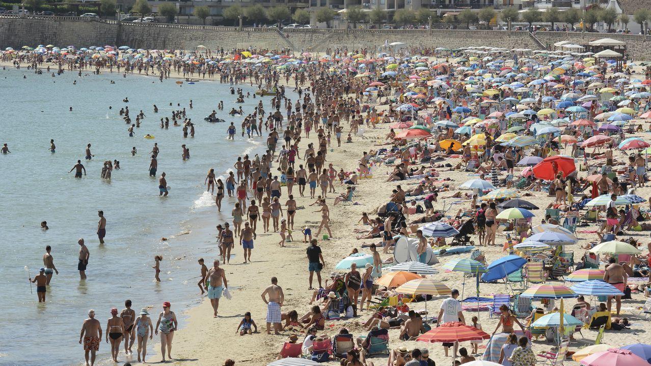 El calor desbordó las previsiones.Pórtico de peaje en una autovía portuguesa