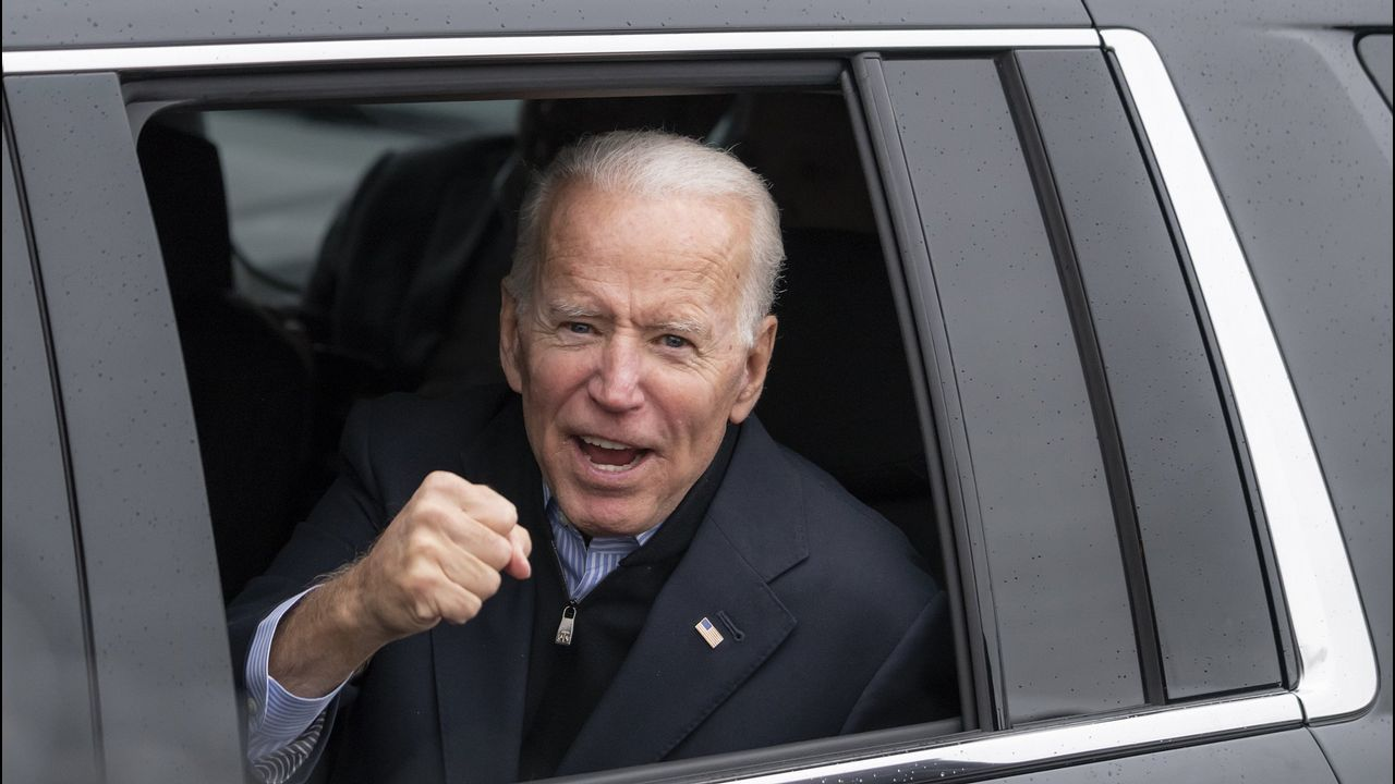 Para Joe Biden, exvicepresidente con Barack Obama, su carrera presidencial es una lucha contra el mal, encarnado por Trump