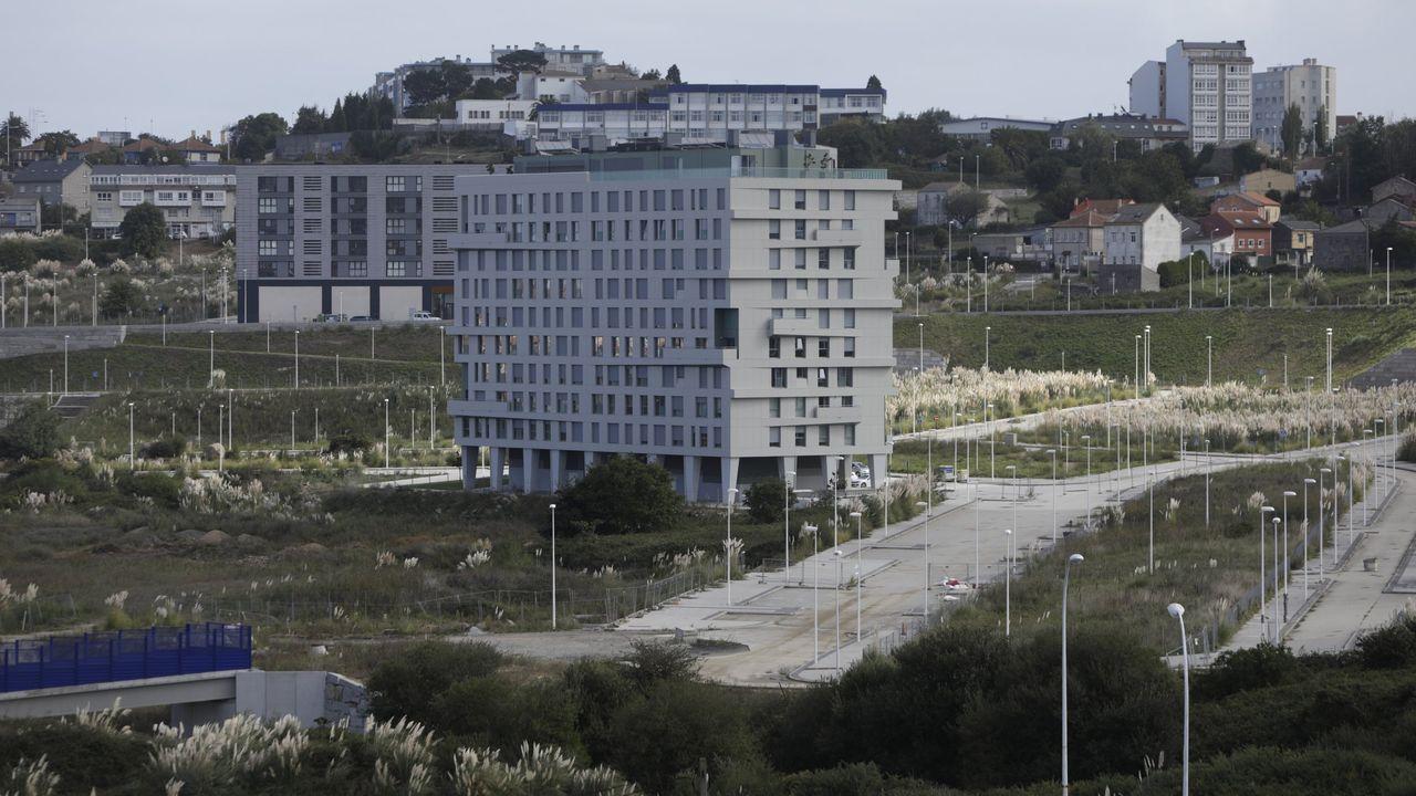 Imagen de archivo del parque empresarial de Xinzo