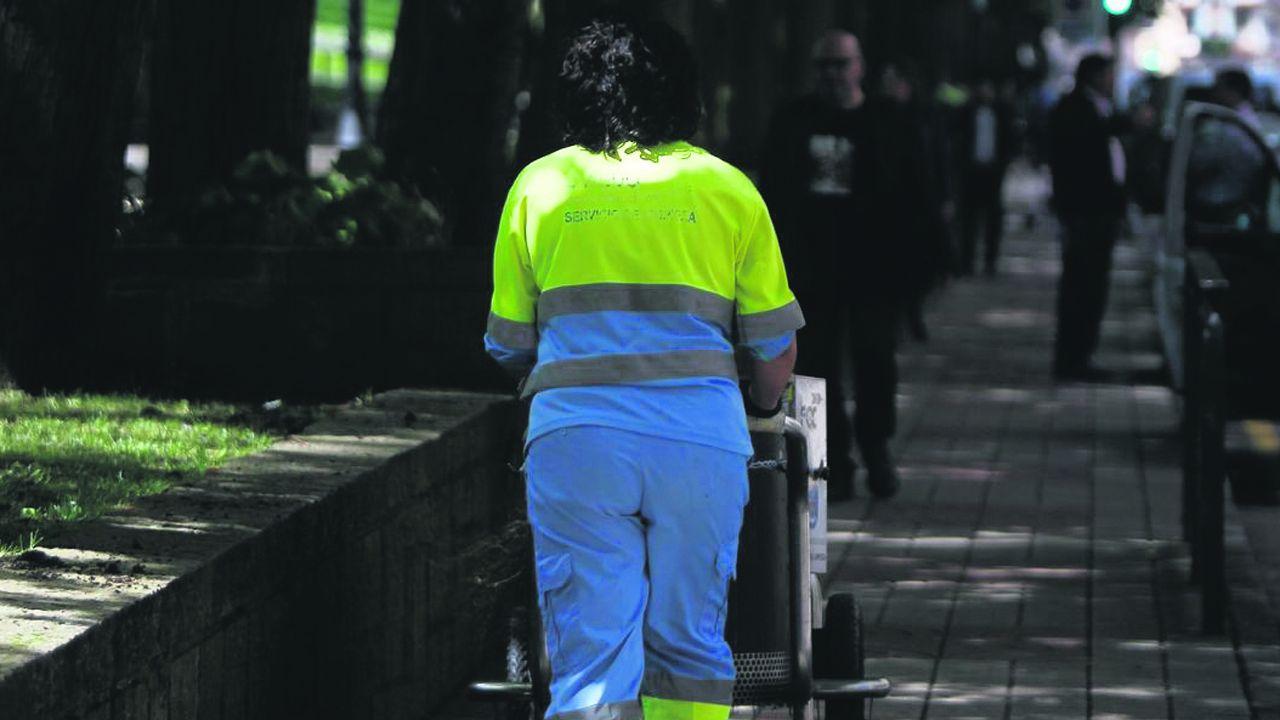 Oviedo por la iguadad.Trabajadora municipal