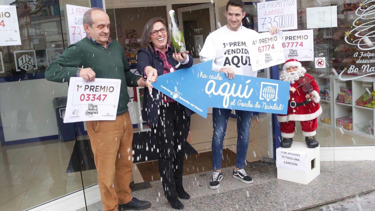 El Gordo en A Coruña