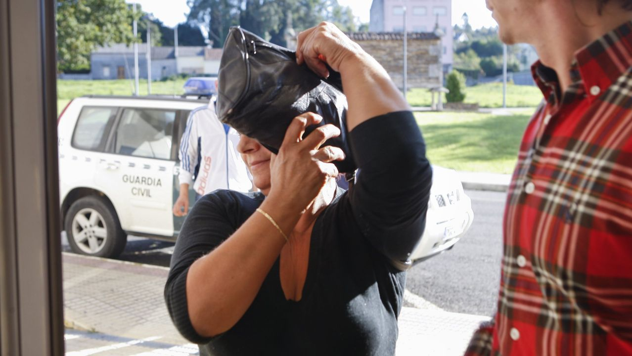 Así se produjo el mayor decomiso de heroína desde 2017.María Emilia Silva tivo que declarar el 7 de noviemre del 2015 en Carballo en calidad de investigada en relación con un alijo de droga incautado por la Guardia Civil