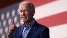 El presidente Joe Biden, en un acto en Virginia el viernes 23 de julio