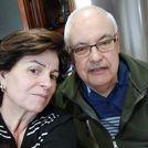 Emilio Blanco cumplió 75 años este domingo, confinado en Seixalbo junto a su mujer Elena