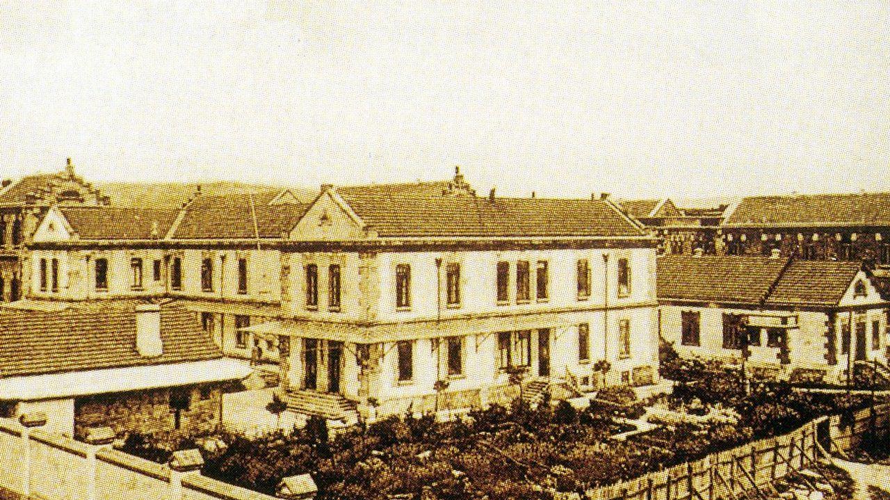 Antiguo hospital de la Marina