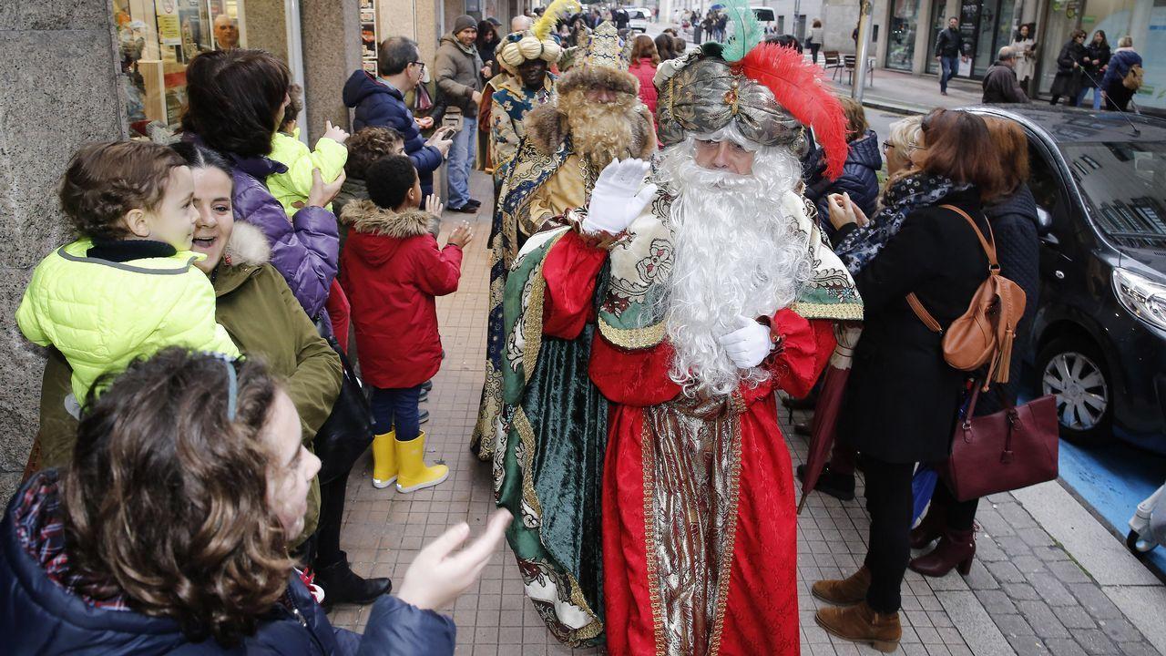 Hoy nos visitaron de los Reyes Magos