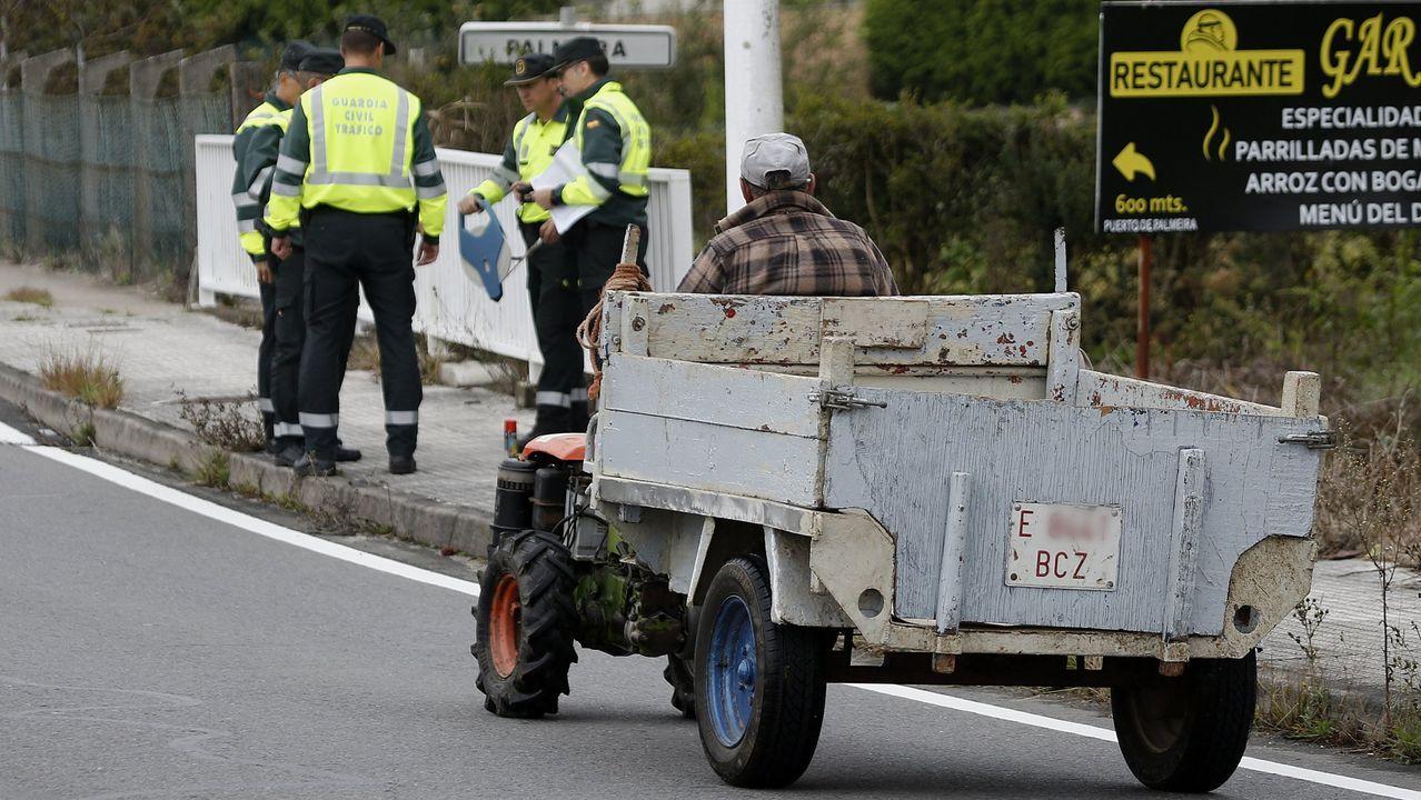 Galicia se vacía ante el estado de alarma.Juzgados de Gijón