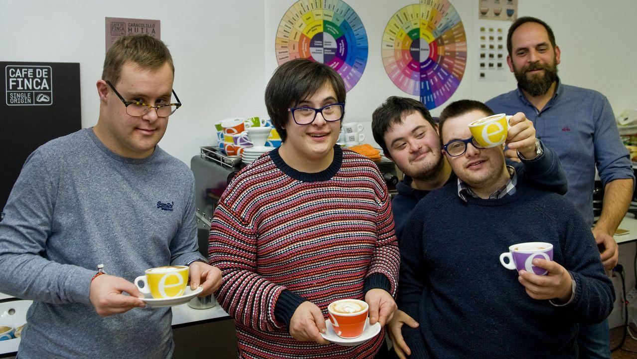 La inclusión también se sirve en una taza de café.El comercio es uno de los sectores que favorece la bajada del paro en diciembre