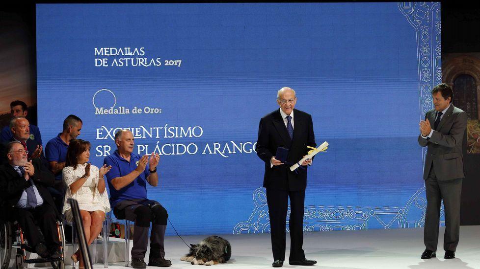 Los actos de la entrega de Medallas de Asturias.Cristina Coto