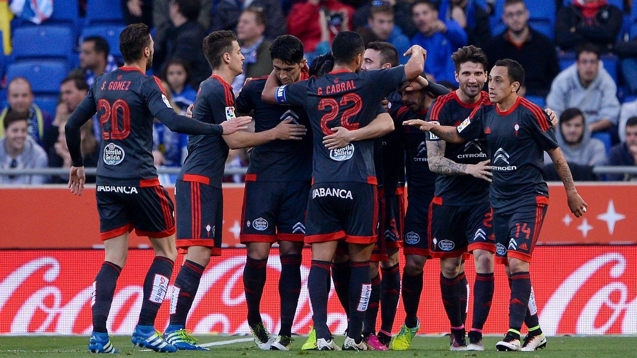 189 - Espanyol-Celta (1-1) de Primera el 19 de abril del 2016