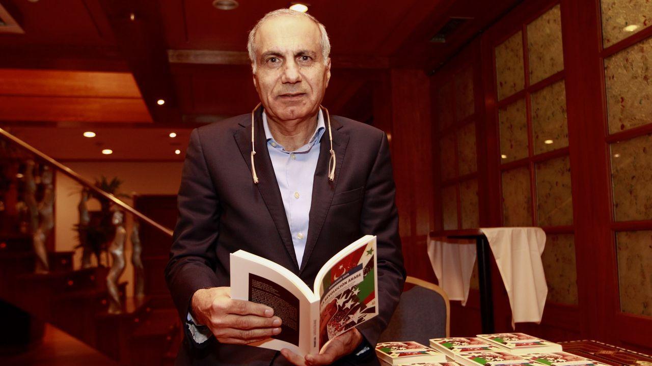 El médico palestino afincado en Cee Mohamed Safa