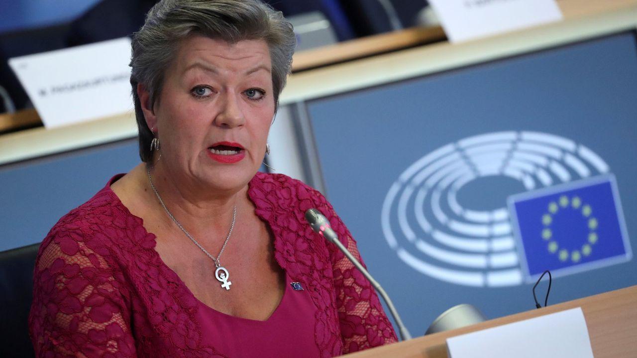 Fernando Simón desglosa los últimos datos de la crisis sanitaria.La comisaria de Interior de la Comisión Europea, la sueca Ylva Johansson