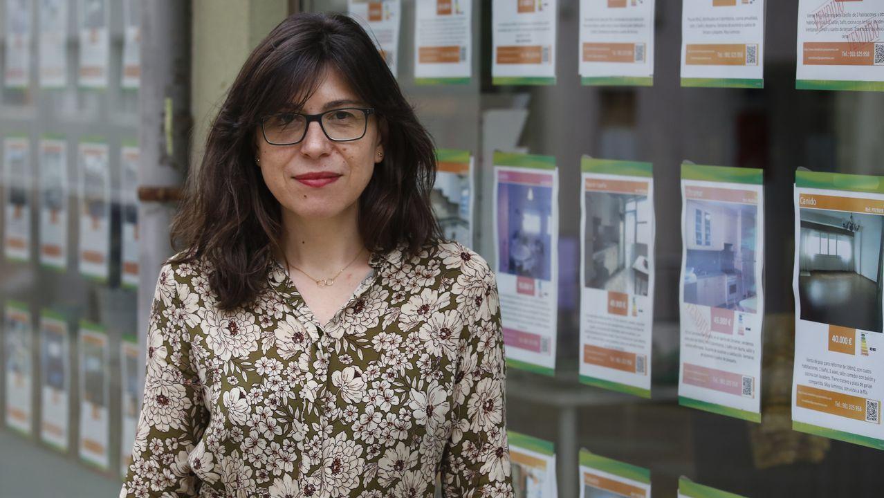 Marta Saavedra, gerente de la Inmobiliaria Artemisa