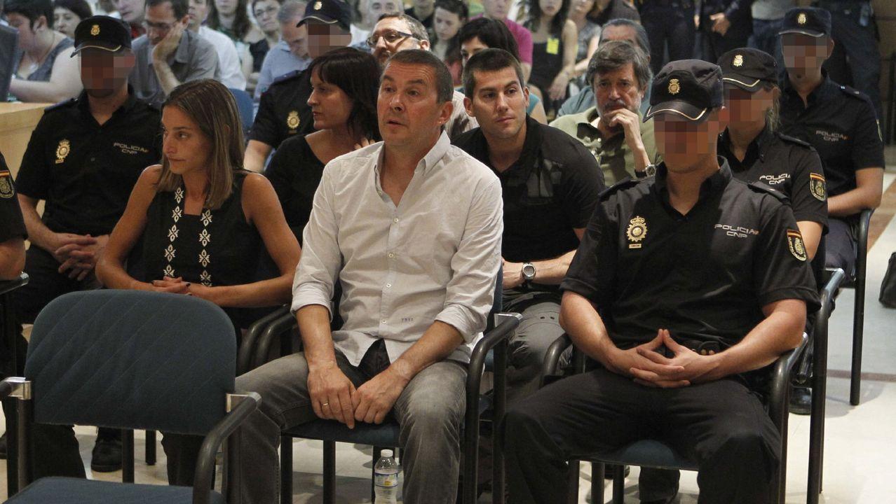Arnaldo Otegi, en el banquillo de la Audiencia Nacional en una imagen del junio del 2011