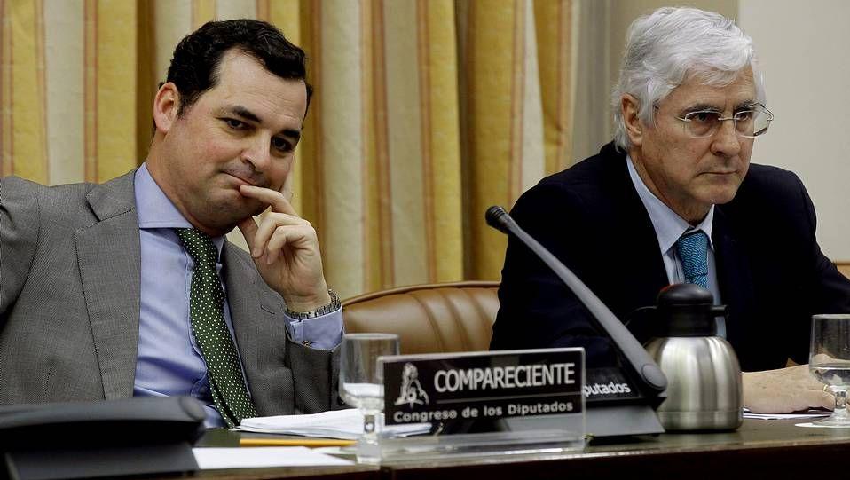 «¡Mira quién salta!»: El salto de Sandro Rey.El presidente de RTVE, Leopoldo González-Echenique, en su comparecencia en el Congreso.
