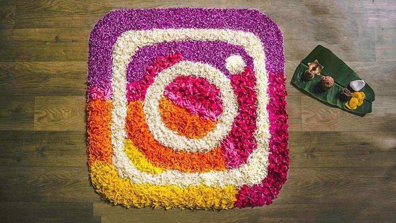 Las alfombras florales aresanas realizadas por escolares europeos y aresanos