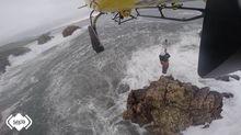 Un rescate del helicóptero del Sepa