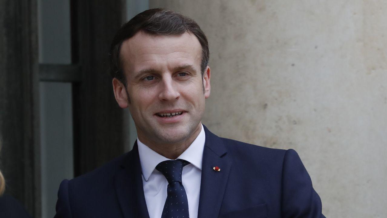 Imagen de Emmanuel Macron