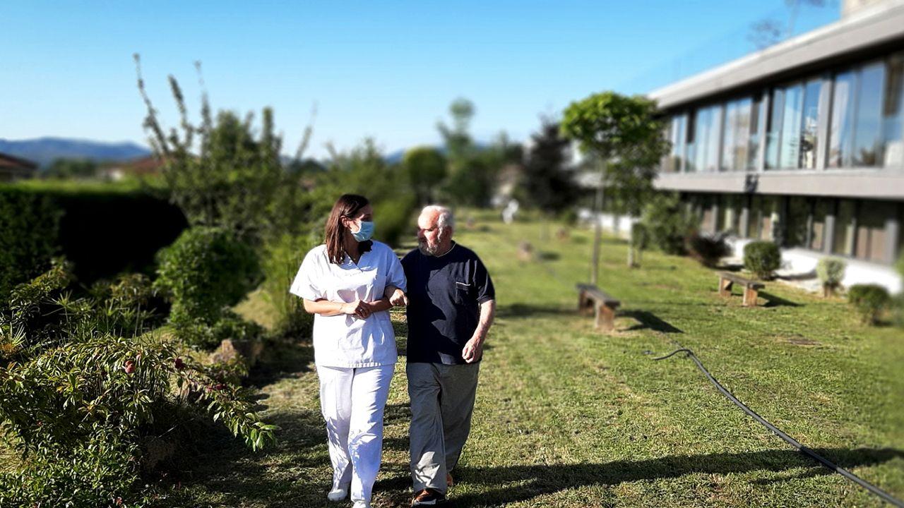 Los centros son, para los residentes, su hogar y las personas que se encargan de sus cuidados, parte de su familia