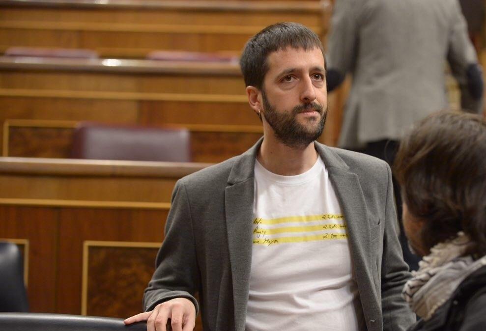 Juanma del Olmo, secretario de Comunicación del líder de Podemos, no ha logrado revalidar su escaño a pesar de que iba como número 1 por Valladolid