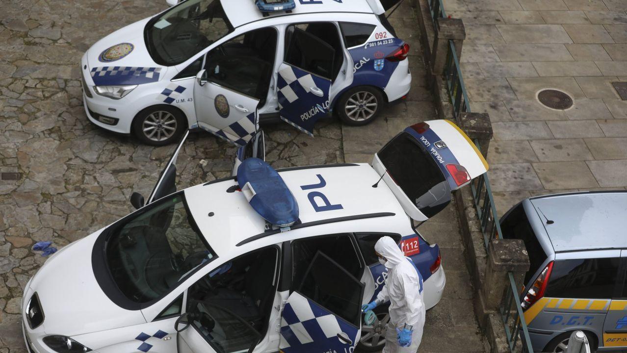 Sesenta días de alarma.La frondosidad y la orografía dificultan la búsqueda del hombre desaparecido en Baleira